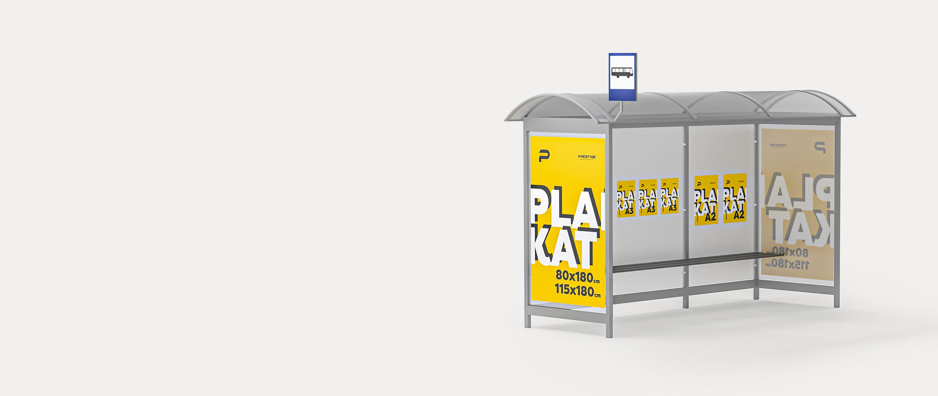 Reklama na przystankach, Reklama na przystanku, Plakaty na przystankach