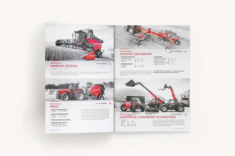 Agencja reklamy Prestige,  Wokas Agro - Massey Ferguson - Folder