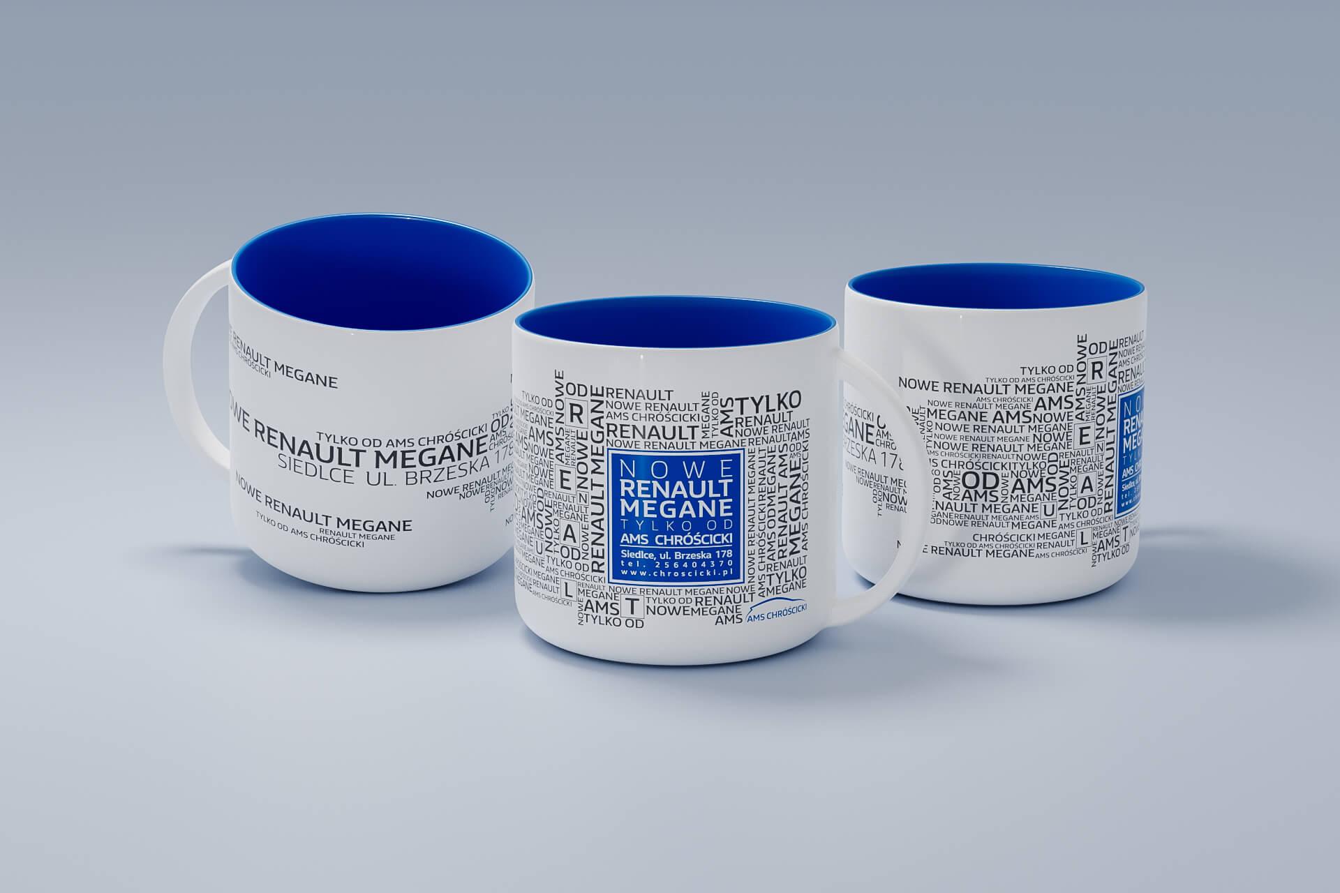 Agencja reklamy Prestige,  Ceramika reklamowa, AMS Chróścicki