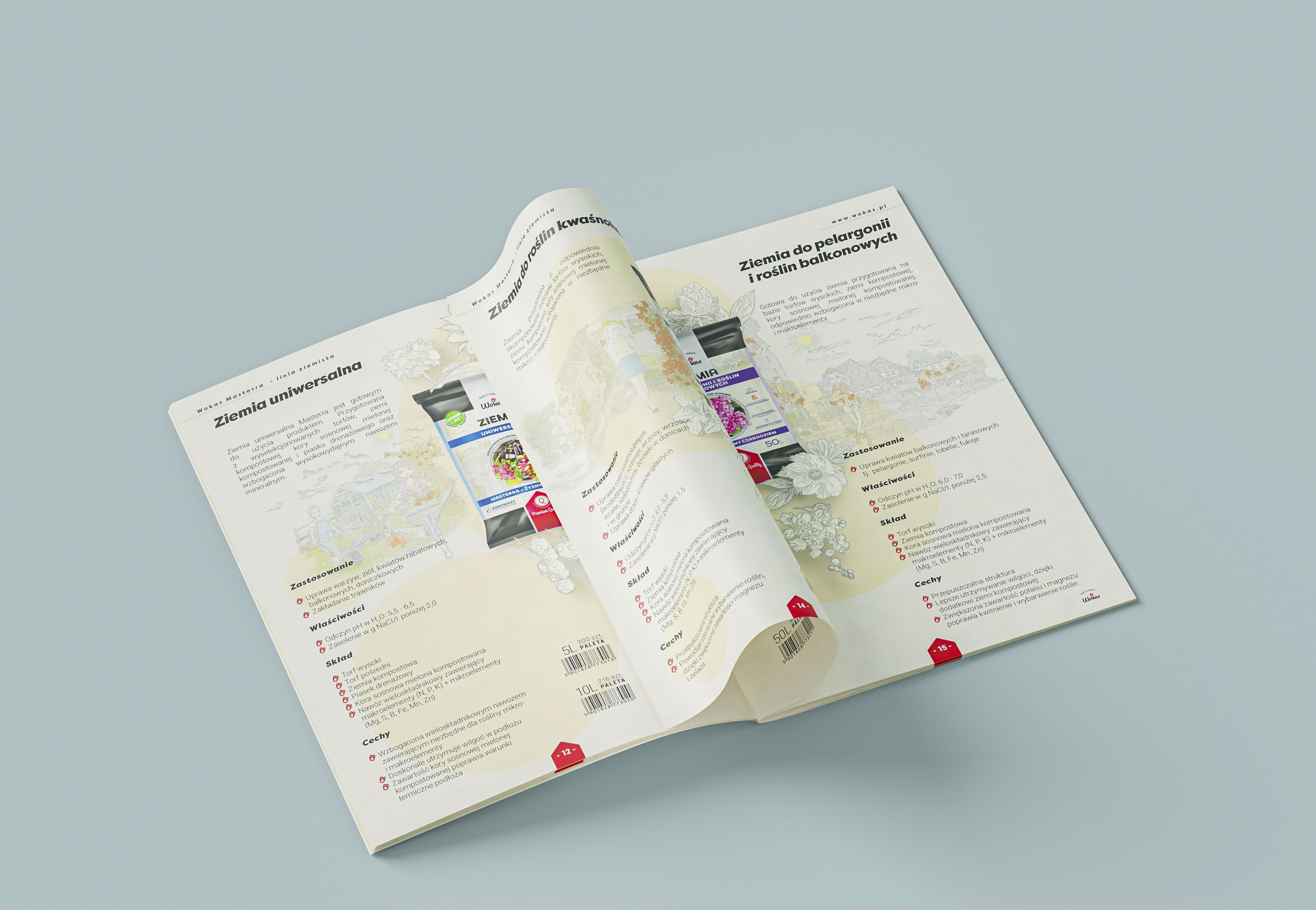 Agencja reklamy Prestige, Wokas - Katalog produktów