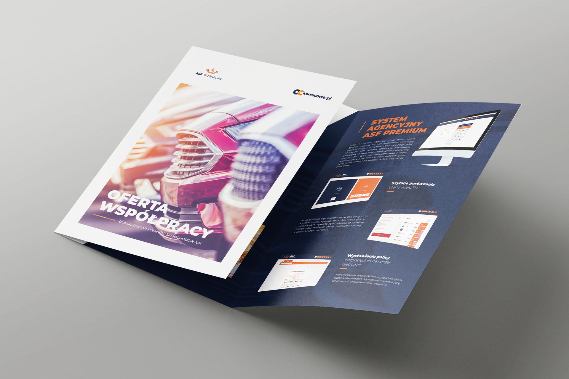 ASF Premium, OCkomisowe.pl, Ulotka 3xA4